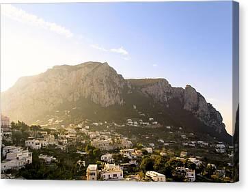 Isle Of Capri In The Sun Canvas Print by Mark E Tisdale