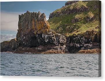 Canvas Print featuring the photograph Isle Of Lunga by Sergey Simanovsky