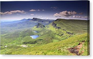 Isle Of Skye   Scotland Canvas Print