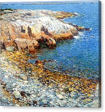 Isles Of Shoals Canvas Print by Frederick Childe Hassam