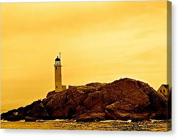 Isles Of Shoals Canvas Print by Mark Prescott Crannell