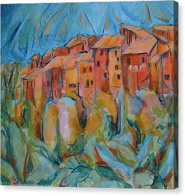 Isola Di Piante Small Italy Canvas Print