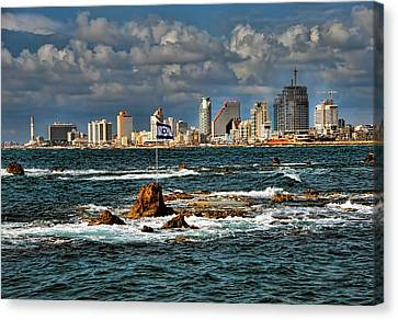 Israel Full Power Canvas Print by Ron Shoshani