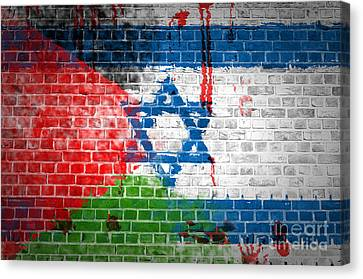 Israeli Occupation Canvas Print