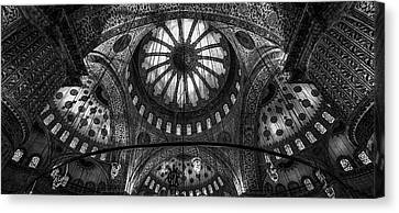 Istanbul - Blue Mosque Canvas Print by Michael Jurek