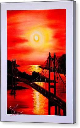 Istanbul Bridge Canvas Print by Shirwan Ahmed