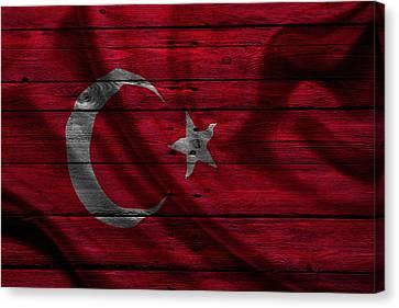 North East Canvas Print - Istanbul by Joe Hamilton