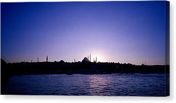 Istanbul Nightfall Canvas Print by Shaun Higson