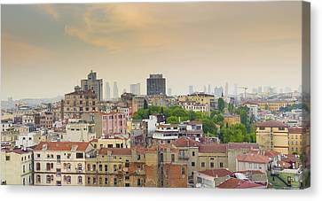 Istanbul Skyline Canvas Print by Hans Engbers