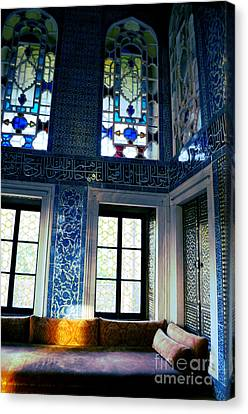 Istanbul - Topkapi Palace Canvas Print by Haleh Mahbod
