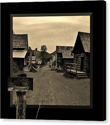 It Is A Sign Canvas Print by Barbara St Jean