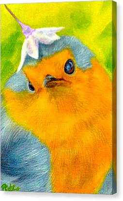 Tis Spring Canvas Print
