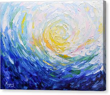 It Is Well With My Soul Canvas Print by Mike Moyers