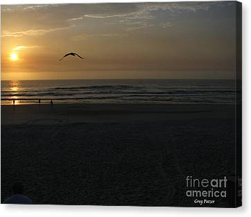 Canvas Print featuring the photograph It Starts by Greg Patzer