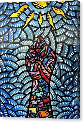 Itaas Sa Bagong Araw Raise To The New Day Canvas Print