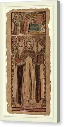 Saint Dominic Canvas Print - Italian 15th Century, Saint Dominic by Litz Collection