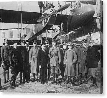 Italian Aircraft Production, World War I Canvas Print