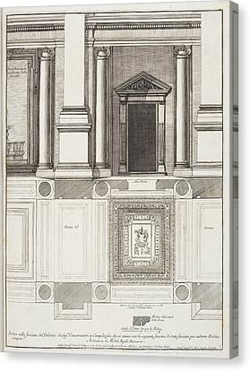 Italian Architecture Canvas Print by British Library