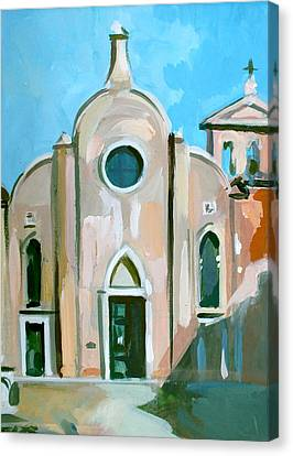 Italian Church Canvas Print by Filip Mihail