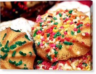 Italian Cookies Canvas Print
