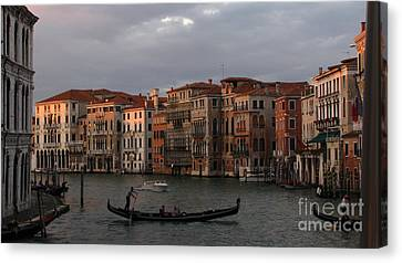 Italian Evening Canvas Print by Jennifer Wheatley Wolf