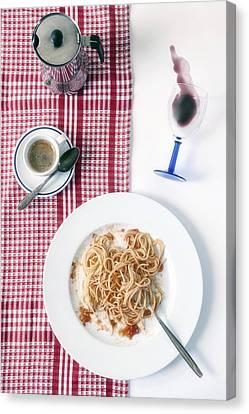 Italian Food Canvas Print