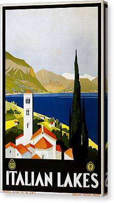 Italian Lakes Canvas Print