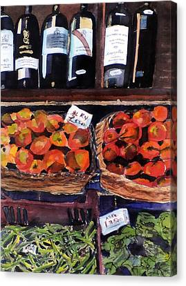 Italian Market Canvas Print by Susie Jernigan