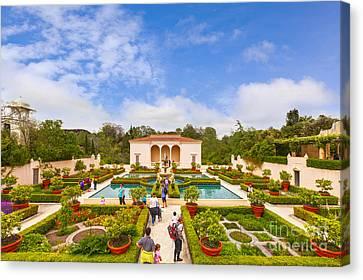 Italian Renaissance Garden Hamilton Gardens New Zealand Canvas Print by Colin and Linda McKie
