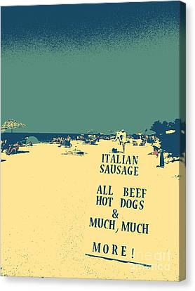 Italian Sausage Canvas Print by Valerie Reeves