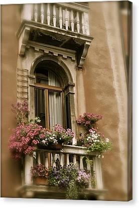 Italian Windowbox 2 Canvas Print