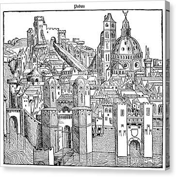 Italy - Padua 1493 Canvas Print by Granger
