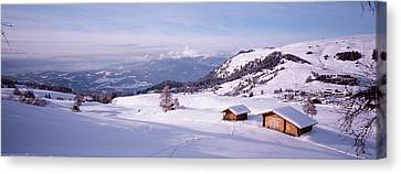 Italy, Italian Alps, High Angle View Canvas Print by Panoramic Images