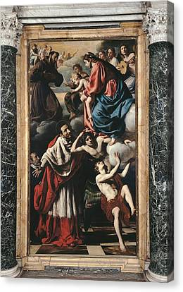 Italy, Lazio, Rome, San Salvatore Canvas Print by Everett