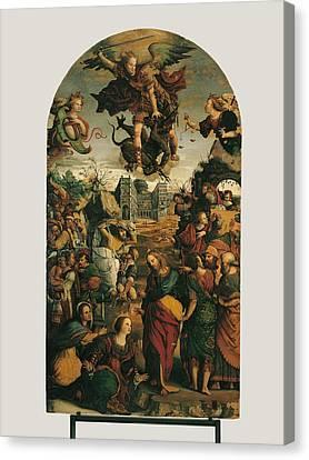Italy, Marche, Pesaro-urbino, Fano Canvas Print by Everett