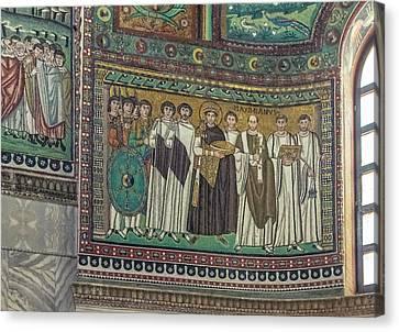 Italy, Ravenna, Basilica Of San Vitale Canvas Print by Rob Tilley