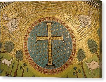 Italy, Ravenna Mosaics Adorning Canvas Print by Jaynes Gallery