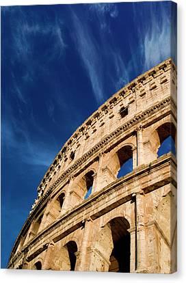 Italy, Rome, Roman Coliseum Canvas Print