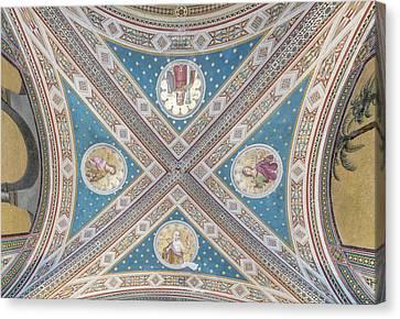 Italy, Tuscany, Chianti, Near Gaiole Canvas Print by Rob Tilley