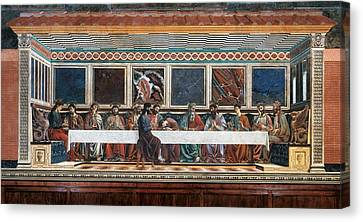 Last Supper Canvas Print - Italy, Tuscany, Florence, Former Santa by Everett