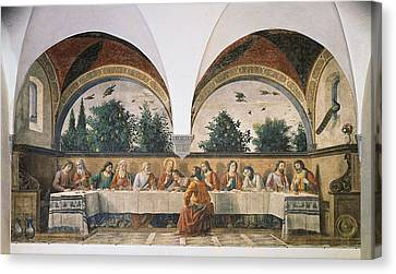 Last Supper Canvas Print - Italy, Tuscany, Florence, Ognissanti by Everett