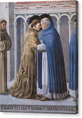 Saint Dominic Canvas Print - Italy, Umbria, Perugia, Montefalco, San by Everett