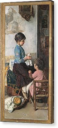 Italy, Veneto, Treviso, Treviso Canvas Print by Everett