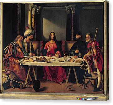 Last Supper Canvas Print - Italy, Veneto, Venice, San Salvador by Everett