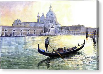 Italy Venice Morning Canvas Print