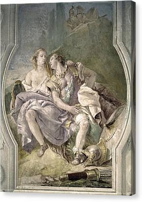 Italy. Vicenza. Villa Valmarana Canvas Print
