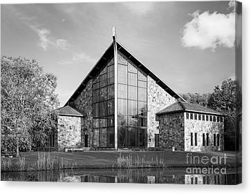 Ithaca College Muller Chapel Canvas Print by University Icons