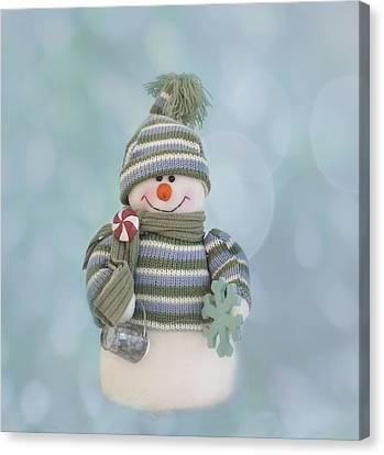It's A Holly Jolly Christmas Canvas Print by Kim Hojnacki