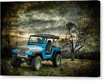 It's A Jeep Thing Canvas Print