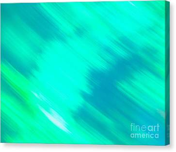 Canvas Print featuring the photograph It's All A Blur  by Sarah Mullin